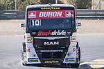 Monegasque driver Ellen Lohr belonging German team Truck Sport Lutz Bernau during the super pole SP1 of the XXX Spain GP Camion of the FIA European Truck Racing Championship 2016 in Madrid. October 01, 2016. (ALTERPHOTOS/Rodrigo Jimenez)
