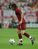 Maniche.  Portugal defeated England on penalty kicks after playing to a 0-0 tie in regulation in their FIFA World Cup quarterfinal match at FIFA World Cup Stadium in Gelsenkirchen, Germany, July 1, 2006.