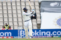 Shubman Gill, India [pulls a short delivery to the square boundary during India vs New Zealand, ICC World Test Championship Final Cricket at The Hampshire Bowl on 19th June 2021