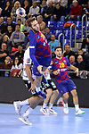 VELUX EHF 2019/20 EHF Men's Champions League Group Phase - Round 8.<br /> FC Barcelona vs Aalborg Handbold: 44-35.<br /> Aleix Gomez.
