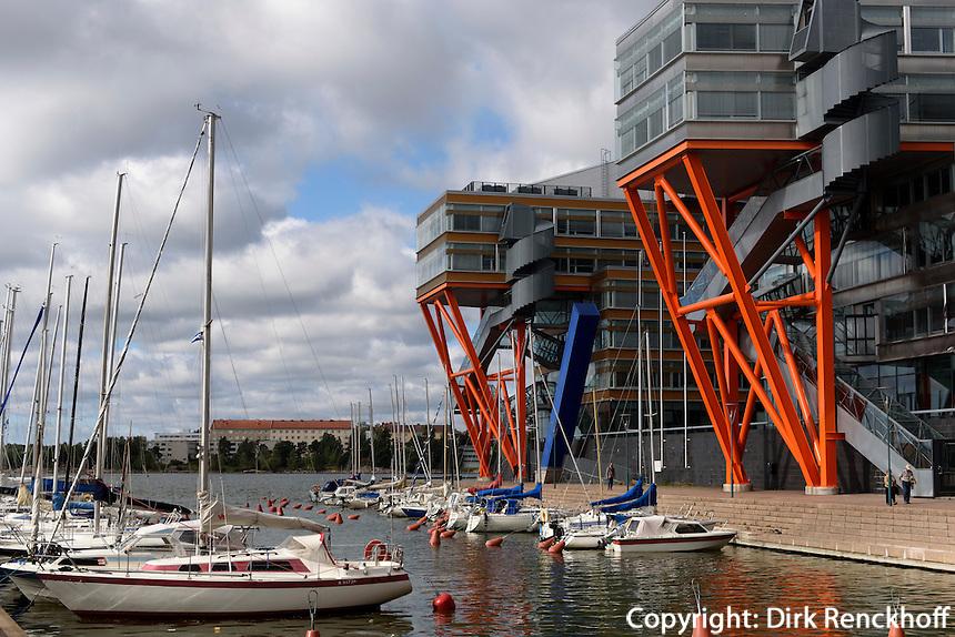 Moderne Architektur bei Kaapeli, Helsinki, Finnland