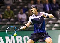 Rotterdam, The Netherlands, 12 Februari 2019, ABNAMRO World Tennis Tournament, Ahoy, first round singles: Tomas Berdych (CZE),<br /> Photo: www.tennisimages.com/Henk Koster
