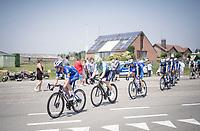 Iljo Keisse (BEL/Deceuninck-QuickStep) setting the pace in the peloton. Per usual.<br /> <br /> 72nd Halle - Ingooigem 2019 (BEL/1.1)<br /> 1 day race from Halle to Ingooigem (201km)<br /> <br /> ©kramon