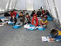 Iraq 2015 <br /> Mathematics for Yazidi boys in the camp of Berseve  <br /> Irak 2015 <br /> Cours de calcul pour des garcons Yezidi au camp de Berseve.
