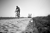 Marco Marcato (ITA/Wanty-Groupe Gobert)<br /> <br /> 2015 Paris-Roubaix recon