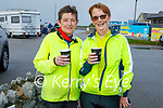 Supporting the Coffee Morning in aid of the Kerry Hospice at Mikes Beach Cafe in Fenit on Saturday morning, l to r: Siobhan O'Mahoney (Tralee) and Kathleen O'Sullivan (Kilmoyley).