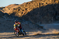 12 Barreda Bort Joan (esp), Honda, Monster Energy Honda Team 2020, Moto, Bike, Motul, action during Stage 3 of the Dakar 2020 between Neom and Neom, 489 km - SS 404 km, in Saudi Arabia, on January 7, 2020 - P <br /> Rally Dakar <br /> 07/01/2020 <br /> Photo DPPI / Panoramic / Insidefoto