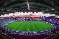 ORLANDO, FL - JANUARY 18: Exploria Stadium before a game between Colombia and USWNT at Exploria Stadium on January 18, 2021 in Orlando, Florida.
