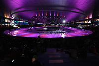 SCHAATSEN: ISU World Cup, overzicht ijsbaan met kunstlicht, ©foto Martin de Jong