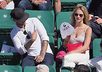 Sweem et Margot Bancilhon<br /> day 12<br /> Roland Garros 2017