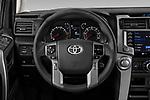 Car pictures of steering wheel view of a 2020 Toyota 4-Runner SR5 5 Door SUV Steering Wheel