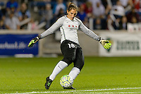 Chicago, IL - Saturday Sept. 24, 2016: Michele Dalton during a regular season National Women's Soccer League (NWSL) match between the Chicago Red Stars and the Washington Spirit at Toyota Park.