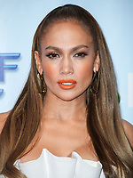 UNIVERSAL CITY, LOS ANGELES, CA, USA - JANUARY 30: Jennifer Lopez at a photo op for NBC's 'World Of Dance' at NBC Universal Lot on January 30, 2018 in Universal City, Los Angeles, California, United States. (Photo by Celebrity Monitor)