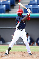 October 5, 2009:  Roger Bernadina of the Washington Nationals organization during an Instructional League game at Space Coast Stadium in Viera, FL.  Bernadina signed as a non-drafted free agent in 2001 by the then Montreal Expos.  Photo by:  Mike Janes/Four Seam Images