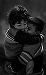 A hug means you are is everything in this life. Photo by Sanad Ltefa