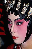 Canton-Oper, weibliche Rolle,  Hongkong, China