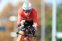 9th September 2021; Trento, Trentino–Alto Adige, Italy: 2021 UEC Road European Cycling Championships, Mens Individual time trials: PELIKÁN János Zsombor (HUN)