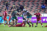 26th September 2020; Toulon, France; European Challenge Cup Rugby, semi-final; RC Toulon versus Leicester Tigers;  Tomas Lavanini (Leicester)