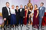Oskars: Attending the Oskars at the Listowel Celtic fund raiser at the Listowel Community Centre on Saturday night last. L- R: John & Trish Mulvihill, Cara & Mark Loughnane, Imelda Murphy, Melissa Bergin, Rebecca Stapelton & Miriam & Anthony Hanlon.