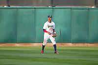 Cedar Rapids Kernels outfielder Byron Buxton #7 fields during a game against the Lansing Lugnuts at Veterans Memorial Stadium on April 29, 2013 in Cedar Rapids, Iowa. (Brace Hemmelgarn/Four Seam Images)