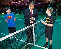 Rotterdam, The Netherlands, Februari 10, 2016,  ABNAMROWTT, Ball-kids<br /> Photo: Tennisimages/Henk Koster