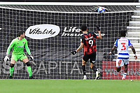 Dominic Solanke of AFC Bournemouth pulls a goal back from close range during AFC Bournemouth vs Reading, Sky Bet EFL Championship Football at the Vitality Stadium on 21st November 2020