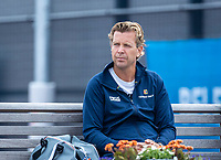 Amstelveen, Netherlands, 10 Juli, 2021, National Tennis Center, NTC, Amstelveen Womans Open, Singles final:  Coach of Quirine Lemoine (NED) Niels Stemerding (NED)<br /> Photo: Henk Koster/tennisimages.com