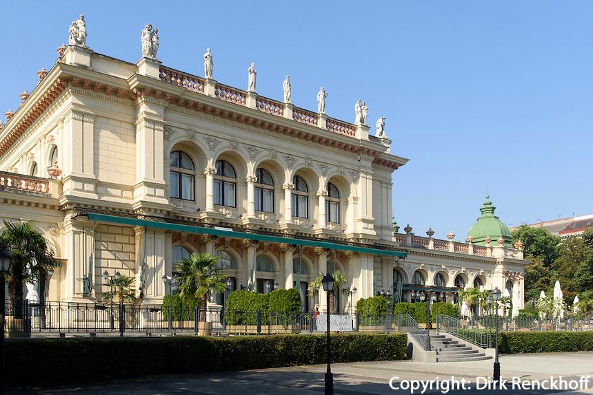 Kursalon im Stadtpark, Wien, Österreich, UNESCO-Weltkulturerbe<br /> Kursalon in the Stadtpark, Vienna, Austria, world heritage