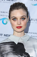 CENTURY CITY, CA - JUNE 27: Bella Heathcote attends the Helmut Newton opening night exhibit at Annenberg Space For Photography on June 27, 2013 in Century City, California. (Photo by Celebrity Monitor)