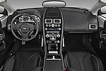 Straight dashboard view of a 2007 - 2012 Aston Martin DBS Volante Convertible.