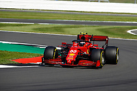 55 SAINZ Carlos (spa), Scuderia Ferrari SF21, action during the Formula 1 Pirelli British Grand Prix 2021, 10th round of the 2021 FIA Formula One World Championship from July 16 to 18, 2021 on the Silverstone Circuit, in Silverstone, United Kingdom -<br /> Formula 1 GP Great Britain Silverstone 18/07/2021<br /> Photo DPPI/Panoramic/Insidefoto <br /> ITALY ONLY