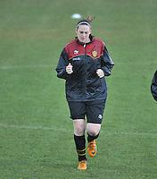 Russia U19 - Belgium U19 : Britt Vanhamel.foto DAVID CATRY / Nikonpro.be