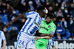 CD Leganes's Kenneth Josiah Omeruo during La Liga match between CD Leganes and Levante UD at Butarque Stadium in Leganes, Spain. March 04, 2019. (ALTERPHOTOS/A. Perez Meca)