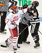 Brandon Hickey (BU - 4), Kasper Björkqvist (PC - 20) - The Boston University Terriers tied the visiting Providence College Friars 2-2 on Saturday, December 3, 2016, at Agganis Arena in Boston, Massachusetts.