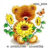GIORDANO, CUTE ANIMALS, LUSTIGE TIERE, ANIMALITOS DIVERTIDOS, Teddies, paintings+++++,USGI2038,#AC# teddy bears