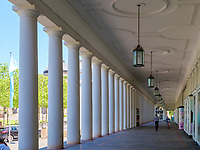 Arkaden beim Kurhausplatz, Wiesbaden, Hessen, Deutschland, Europa<br /> Arcades at Kurhausplatz, Wiesbaden,  Hesse, Germany, Europe