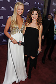 Nancy O'Dell and Shania Twain arrive at the 48th Annual Academy of Country Music Awards<br /> Photo Credit: JEFFREY MAYER:AtlasIcons.com