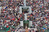 29-05-13, Tennis, France, Paris, Roland Garros, The wave at court Suzanne Lenglen
