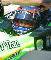 HOMESTEAD, FL - OCTOBER 01: Danica Patrick driver of the #7 Andretti Autosport Dallara Honda during final practice for the IndyCar Series Cafes do Brasil Indy 300 at Homestead-Miami Speedway on October 1, 2010 in Homestead, Florida<br /> <br /> <br /> People:  Danica Patrick