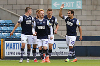 Mason Bennett of Millwall celebrates scoring the first goal during Millwall vs Blackburn Rovers, Sky Bet EFL Championship Football at The Den on 14th July 2020