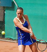 2013-08-17, Netherlands, Raalte,  TV Ramele, Tennis, NRTK 2013, National Ranking Tennis Champ, Nicolle Thijssen<br /> Photo: Henk Koster