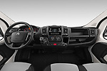 Stock photo of straight dashboard view of 2019 Citroen Jumper - 4 Door Chassis Cab Dashboard