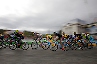 After a few laps around the streets of Paris, yellow jersey Chris Froome (GBR/SKY) is no longer riding in front with his team as the overall standings were neutralised (finalised) as soon as they hit the local finishing laps. Therefore they no longer need to hustle with the sprinter teams (and risk crashes) in front of the bunch. Simply rolling in today is enough to be secured of overall victory.<br /> <br /> stage 21: Sèvres - Champs Elysées (109km)<br /> 2015 Tour de France