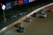 NASCAR Camping World Truck Series<br /> Eldora Dirt Derby<br /> Eldora Speedway, Rossburg, OH USA<br /> Wednesday 19 July 2017<br /> Noah Gragson, Switch Toyota Tundra and Chris Windom, BALDWIN BROTHERS/FOX PAVING/CENTRAL ABRASIVES/GOTTA RACE Chevrolet Silverado<br /> World Copyright: Russell LaBounty<br /> LAT Images