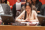 Security Council meeting on Peace and security in Africa.