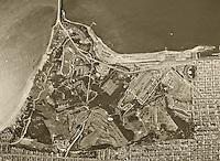 aerial photograph, Presidio of San Francisco, San Francisco, California, 1946