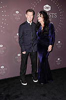 Randy Travis, Mary Davis attends the 2021 CMT Artist of the Year on October 13, 2021 in Nashville, Tennessee. Photo: Ed Rode/imageSPACE/MediaPunch