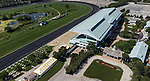 August 14, 2021 : Drone images of Arlington Park before racing started. Nicole Thomas/Eclipse Sportswire/CSM