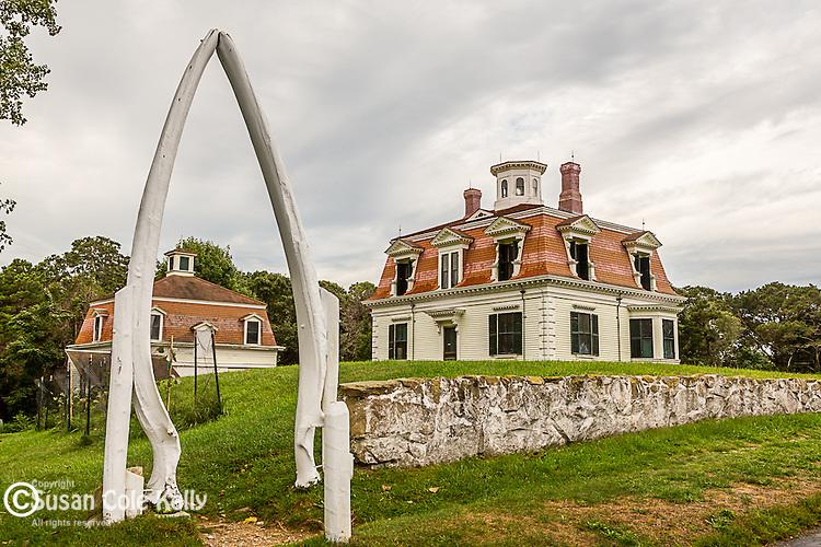 Captain Edward Penniman house in Eastham, Cape Cod National Seashore, MA, USA
