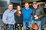 Tom and Clodagh Quane, PJ Rowan and Tony Sheehan in Skelper Quanes, Blennerville enjoying the Cheltenham Gold Cup day on Friday.